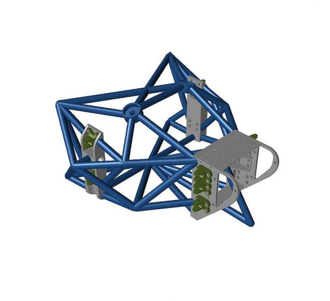 Generative design of chassis parts